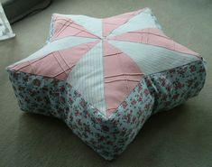 Sternförmiges Kissen, sitzskissen, Sitzsack, sternenkissen