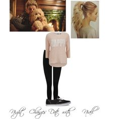 Untitled #53 by kaylee-schroeder on Polyvore featuring polyvore, fashion, style, ONLY, M&Co and Vans