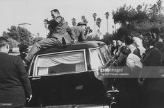News Photo : Tyrone Power's funeral. Lloyd's Of London, Hollywood Forever Cemetery, Power Photos, The Sun Also Rises, Tyrone Power, Abandoned Ships, Sites Like Youtube, Bbc Broadcast, Video Site