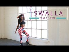 Pop that booty then pop that champagne to our twerk dance workout! Our special fourth of July Swalla dance choreography is here and it's hotter than any fire. Twerk Workout, Toning Workouts, Butt Workout, Workout Tips, Workout Routines, Twerk Dance Video, Dance Choreography, Dance Videos, Twerk Twerk