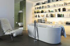 Vrijstaand bad #duravit bij Van Wanrooij keuken- en badkamerspecialisten