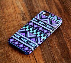 Turquoise Violet Aztec Ethnic iPhone 6 Plus 6 5S 5C 5 Protective Case – Ac.y.c