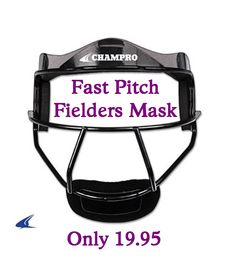 Champro Sports The Grill Fastpitch Softball Fielders Facemask Softball Gear, Fastpitch Softball, Sports Uniforms, Fence, Face Masks, Gardening, House, Life, Products