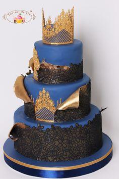 Torturi - Viorica's cakes: Tort nunta la castel