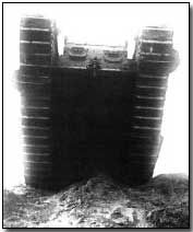 British Mark IV heavy tank