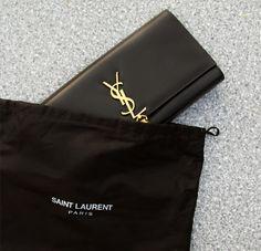ysl wallet womens