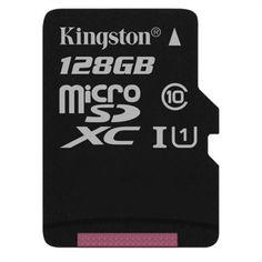 KINGSTON microSD Karte 128GB Klasse 10 UHS-I inkl. Adapter My Canvas, Kingston, Smartphone, Cards