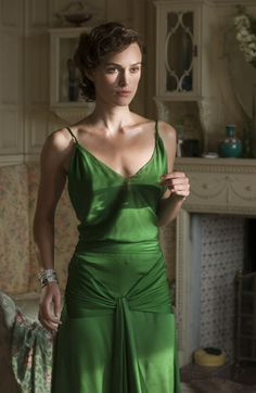 I've loved this dress since I saw it in the movie Atonement.  Stunning, especially the color.