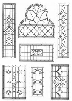 Image result for bevelled glass window patterns