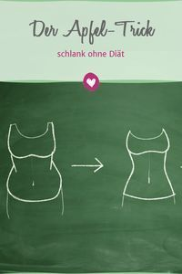 Get slim quickly without diet with the apple Schnell schlank ohne Diät mit dem Apfel-Trick With the apple trick, the pounds drop all by themselves. Health Facts, Health Tips, Weight Gain, How To Lose Weight Fast, Losing Weight, Menu Dieta, Detox Drinks, Diet And Nutrition, Nutrition Guide