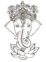 Ganesha deity known for being the remover of obstacles, the patron of arts and sciences and the deva of intellect Metacharis on deviantART