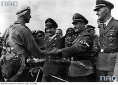 Seitz, Dickfeld, Adolf Galland, Arthur Axmann