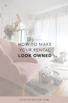 Apartment Patio Decor Just moved into a rental apartment? Here are some tricks to make it look like a permanent residence! Tips including how to decorate your walls and small living room ideas. Small Living Rooms, Living Room Modern, Living Room Decor, Bedroom Decor, Living Area, Wall Decor, Cheap Home Decor, Home Decor Items, Diy Home Decor