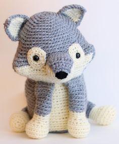 Cuddly Grey Wolf