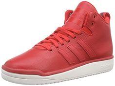 adidas Veritas Lea, Unisex-Erwachsene Basketballschuhe, Rot (Tomato F15-St/Tomato F15-St/Chalk White), 38 2/3 EU (5.5 Erwachsene UK) - http://on-line-kaufen.de/adidas/38-2-3-eu-adidas-veritas-lea-unisex-erwachsene-2