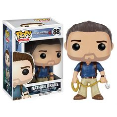 Uncharted 4: A Thief's End Nathan Drake Pop! Vinyl Figure. PLEASE TELL ME THERE'S A SULLY.