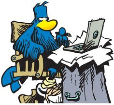 """The comic strip """"Shoe"""" is populated by the feathered denizens of Treetops, East Virginia."""