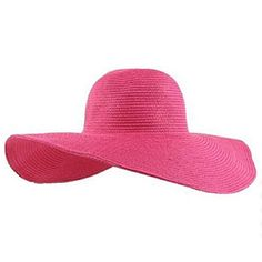 Doinshop Summer Beach Hat Wide Large Brim Floppy Sun Hat Straw Cap Floppy  Straw Hat 0e06d1f5f398