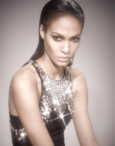 Joan Smalls in McQ Anniversary Collection  Luciana Val and Franco Musso for Bergdorf Goodman  Watch the video