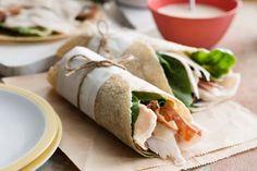 Chicken caesar wraps main image