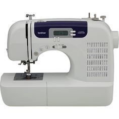 Free 2-day shipping. Buy Brother CS6000i Feature-Rich Sewing Machine With 60 Built-In Stitches, 7 styles of 1-Step Auto-Size Buttonholes, Quilting Table, and Hard Cover at Walmart.com