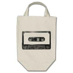 Choose Your Color Cassette Canvas Bag