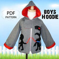 Boys pattern Sewing pattern PDF Boys by MyChildhoodTreasures, $7.50