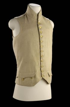 8a98ab7dfec British Navy. This white wool waistcoat of the 1795 pattern. The rank and  status