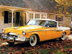 1954 Studebaker President State Coupe