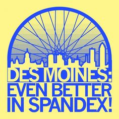 RAGBRAI shirt for Des Moines from Raygun