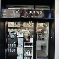 Fachada de salon Monica Porres en Heladio Perlado, Burgos