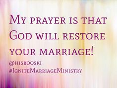 Marriage, restored, love, quote, wedding, God