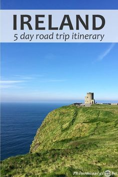 Exploring Ireland by camper van: a detailed 5 day road trip itinerary around this beautiful island, including the Cliffs of Moher, Ring of Kerry, Rock of Cashel and the Wicklow Mountains.