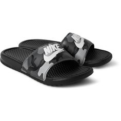 Shop men's sandals at MR PORTER, the men's style destination. Discover our selection of over 400 designers to find your perfect look. Mens Grey Shoes, Camo Shoes, Jordan Shoes Girls, Girls Shoes, Nike Slides For Girls, Mens Monk Strap Shoes, Nike Benassi Slides, Nike Slippers, Womens Golf Shoes