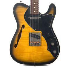 Nash T-69TL Special Flame Maple Top Relic w/Lollar Pickups, Double Bound, & 3-Ply Black Pickguard (Serial #2932)