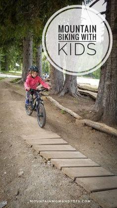 Teach your child to mountain bike - Ready Position on Bike - Mountain Biking with Kids - MTB - Family MTB - Grand Targhee Resort Bike Park - Offroad Bike for Kids - Mountain Bike for Kids - Mountain Mom and Tots - Family Mountain Biking Kids Mountain Bikes, Cross Country Mountain Bike, Mountain Biking, Mountain Bike Games, Best Mtb, Playground Slide, Bike Parking, Get Outdoors, Mtb Bike