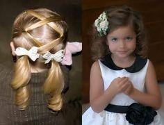 Детские прически: фото пяти лучших и быстрых вариантов для девочек ...