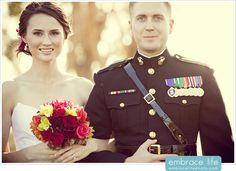 San Diego Military Wedding Photography @ Camp Pendleton