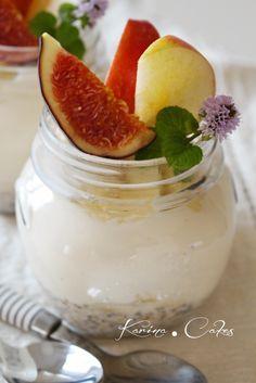 Tvarohovo-jogurtový krém s ovsenými vločkami - Curd yogurt cream with oat flakes