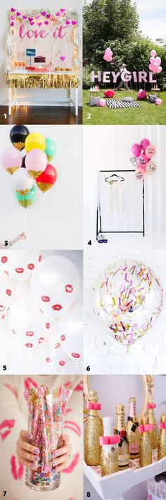50 Simple and Stylish DIY Bridal Shower & Bachelorette Decoration Ideas from Ultimate Bridesmaid bridal shower