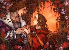 """""""You have freed me from my enchantment, Beauty. Although I am no longer your beast, I promise I will always love you."""" From BEAUTY AND THE BEAST illustrated by Mercer Mayer Children's Book Illustration, Graphic Design Illustration, Book Illustrations, Beauty And The Beast Art, Mercer Mayer, Before Midnight, Fairytale Art, Art For Art Sake, Faeries"""