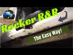 Rusty Rocker Panel R&R - Removal and Replacement the Easy Way - YouTube Rat Rod Build, Auto Body Work, Auto Body Repair, Rockers, Truck, Corner, Car, Youtube, Automobile