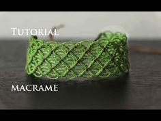 pulsera macrame modelo 48 | friendship bracelet tutorial - YouTube