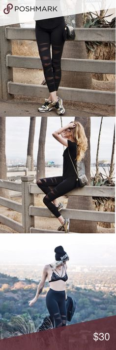 Back in black leggings Back in Black Leggings are the ideal staple for your wardrobe. Form fitting leggings with cut out detail are ultra hip. ** Back now!!! These are not stone cold fox listed for viewers only xx Pants Leggings