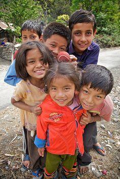 Village kids, Himachal Pradesh