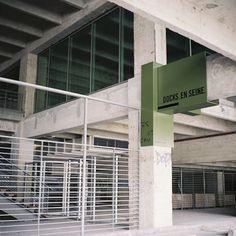 Nicolas Vrignaud / JakobMacFarlane / Docks en Seine / Signage System / 2009