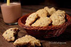 Αλφαχόρες (Alfajores) ⋆ Cook Eat Up! Greek Sweets, Biscuit Cookies, Biscotti, Sweet Tooth, Muffin, Brunch, Food And Drink, Gluten Free, Treats