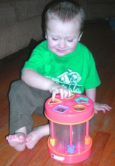 Great little article about buying toys for children with visual impairments