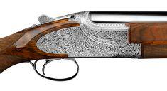 Browning Citori, Sides For Ribs, Shotguns, Hand Engraving, Leather Tooling, Leather Case, Hand Guns, Deep, Shotgun