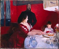 John Singer Sargent, The Birthday Party, 1887